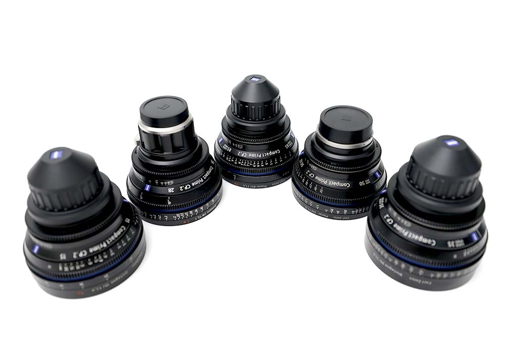 Zeiss Compact Primes 2 (FF) T1.5 -T2.9 PL, E-Mount und EF-Mount