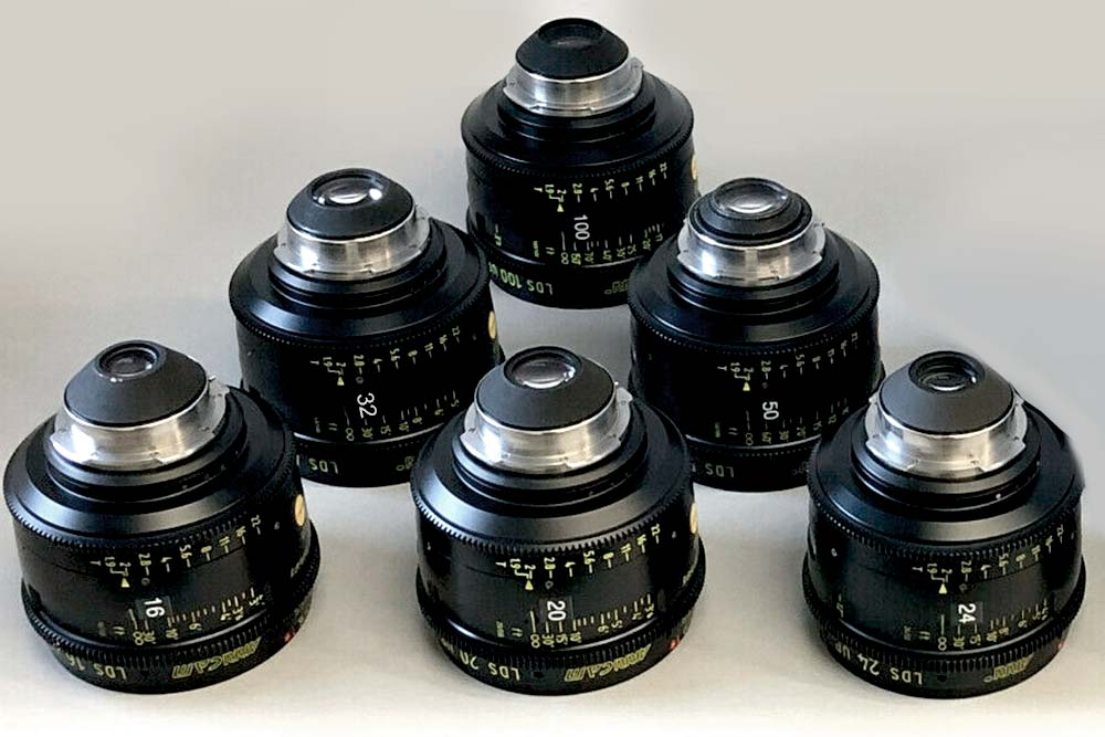 ARRI Ultra Primes (S35) T1.9 PL-Mount