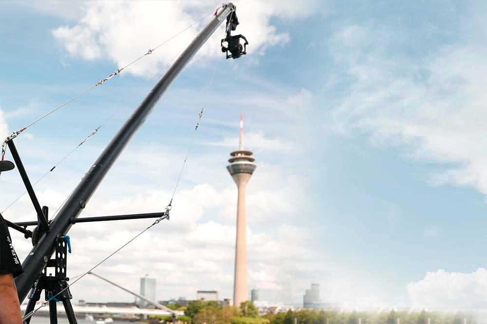 8 Meter Kamerakran Panther Pixy